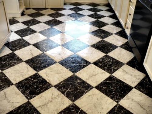 Checkerboard Laminate Flooring Photos
