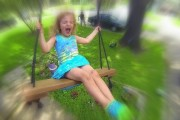 Kids Play Swings