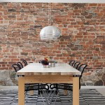 Designer Tips: Add Drama With Realistic Brick Wallpaper