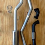 LandCruiser 105 exhaust