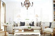 White French Provincial Living Room
