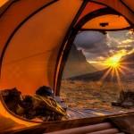 sleeping gear camping