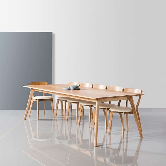 dinner table Scandinavian