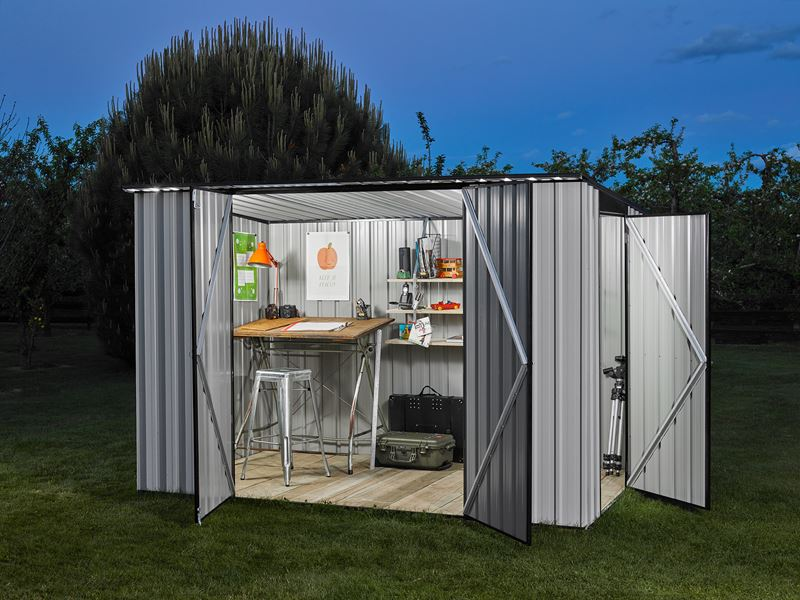 3x3m shed