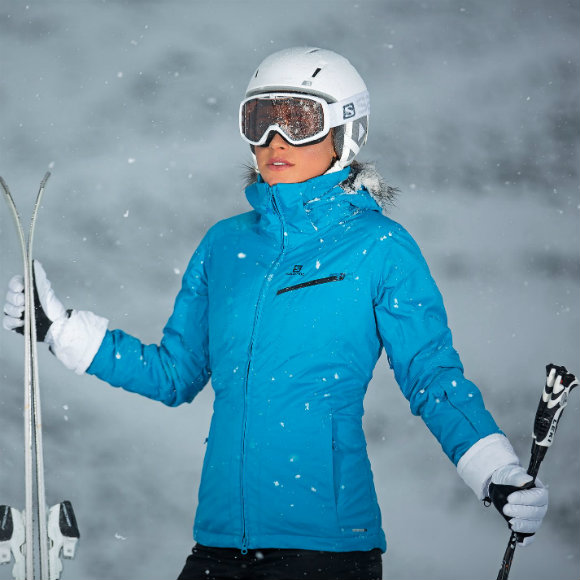 womens skiing jacket