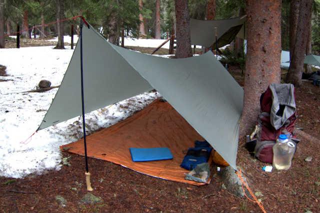 camping rain fly