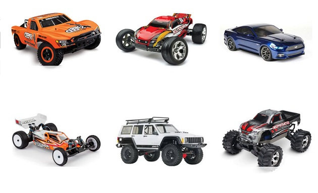 Types of RC Hobby Models