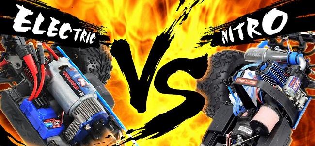 Electric vs. Nitro-Powered RC