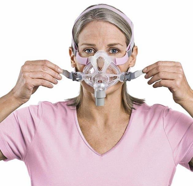 ResMed-quattro full face mask