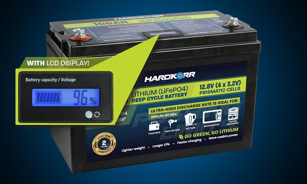 picture of Deep Cycle Battery and it usage
