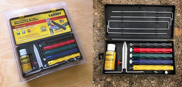 Lansky sharpener - Deluxe knife sharpening system
