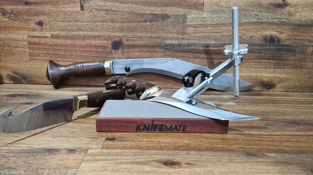Knifemate precision knife sharpening tool (designed and made in Australia)