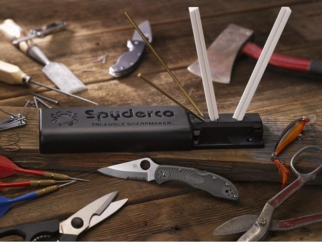 Spyderco sharpener - Tri-Angle sharpmaker knife sharpening set 204