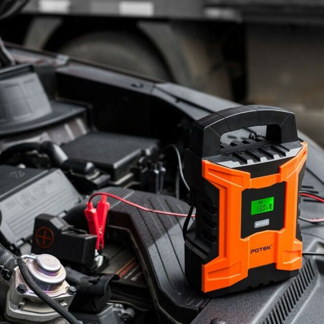 car battery charger tips