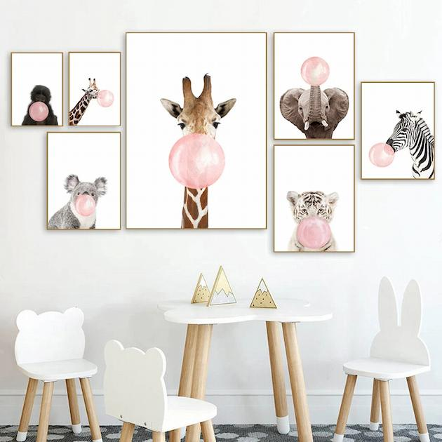 Kids art prints