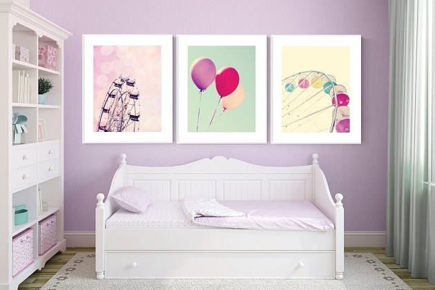 Kids' room art prints