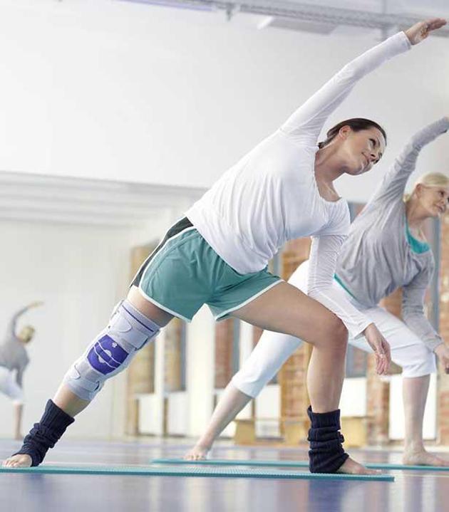 dual wrap wraparound knee brace support