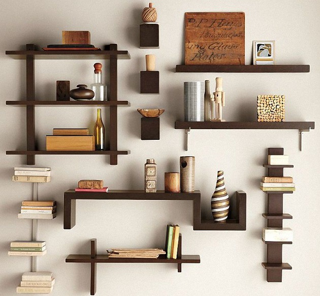 Shelves with interesting designs