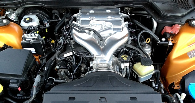 Close up of Internal Combustion Engine