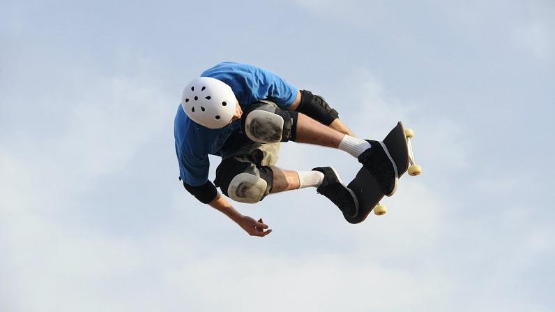 protective skateboarding gear helmet