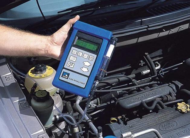 portable exhaust gas analyzer