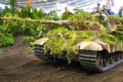 RC scale model tank