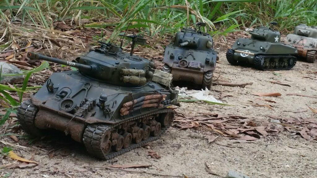 military model tanks