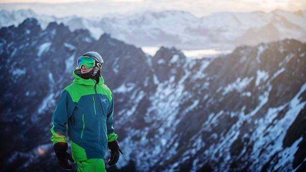 Men additional snowboard clothing