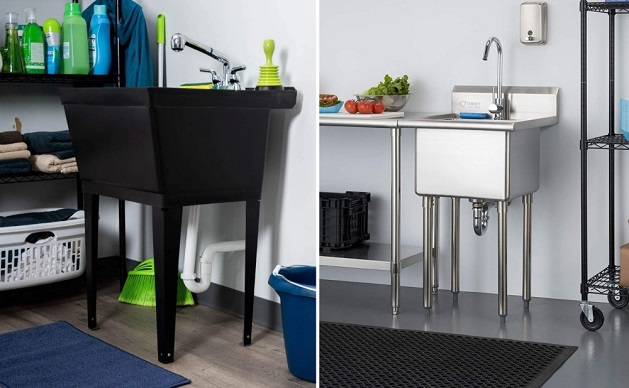 Laundry-Sink-Materials