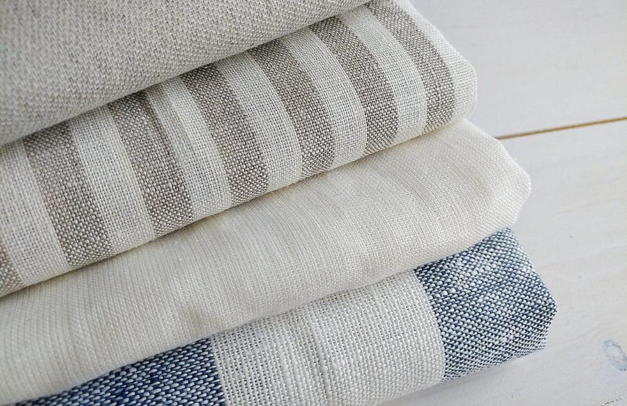stack of bamboo fabrics