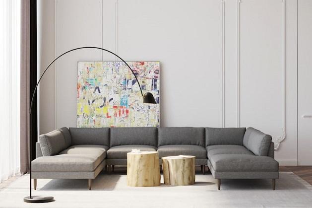 modern sofa decor